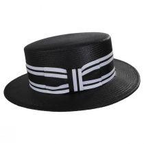 Toyo Straw Boater Hat alternate view 3