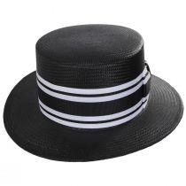 Toyo Straw Boater Hat alternate view 6