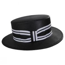 Toyo Straw Boater Hat alternate view 7