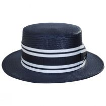Toyo Straw Boater Hat alternate view 2