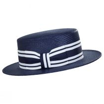 Toyo Straw Boater Hat alternate view 3