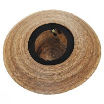 Palm Straw Boater Hat alternate view 8