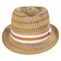 Envie Toyo Straw Fedora Hat alternate view 2