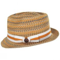 Envie Toyo Straw Fedora Hat alternate view 3