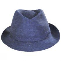 Linen Delave Trilby Fedora Hat alternate view 6