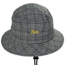 Stith Linen and Cotton Plaid Bucket Hat alternate view 2