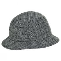 Stith Linen and Cotton Plaid Bucket Hat alternate view 3