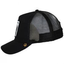 Silverback Trucker Snapback Baseball Cap - Black alternate view 3