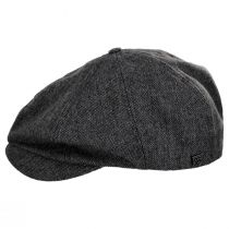 Brood Lightweight Wool Blend Tweed Newsboy Cap alternate view 3