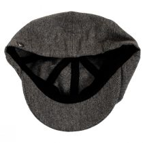 Brood Lightweight Wool Blend Tweed Newsboy Cap alternate view 4