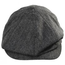 Brood Lightweight Wool Blend Tweed Newsboy Cap alternate view 8