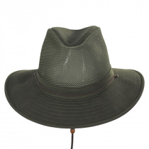 Mesh Cotton Aussie Fedora Hat alternate view 2