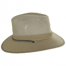 Mesh Cotton Aussie Fedora Hat alternate view 7