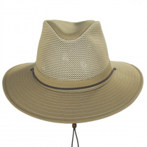 Mesh Cotton Aussie Fedora Hat alternate view 14