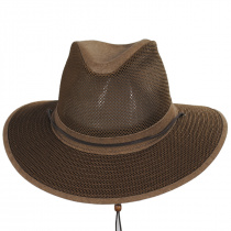 Packable Mesh Aussie Fedora Hat alternate view 6