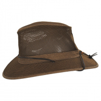 Packable Mesh Aussie Fedora Hat alternate view 7