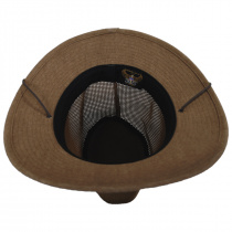 Packable Mesh Aussie Fedora Hat alternate view 8