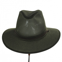 Packable Mesh Aussie Fedora Hat alternate view 11
