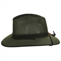 Packable Mesh Aussie Fedora Hat alternate view 12