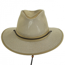 Packable Mesh Aussie Fedora Hat alternate view 15