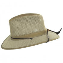 Packable Mesh Aussie Fedora Hat alternate view 16