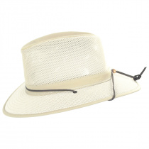 Packable Mesh Aussie Fedora Hat alternate view 44