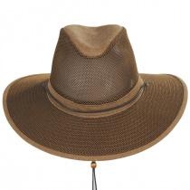 Mesh Aussie Grande Brim Fedora Hat alternate view 6