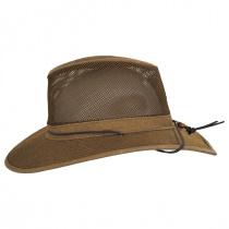 Mesh Aussie Grande Brim Fedora Hat alternate view 7