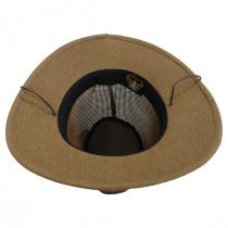 Mesh Aussie Grande Brim Fedora Hat alternate view 8