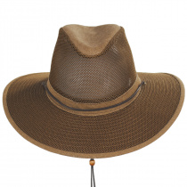 Mesh Aussie Grande Brim Fedora Hat alternate view 46