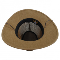 Mesh Aussie Grande Brim Fedora Hat alternate view 72