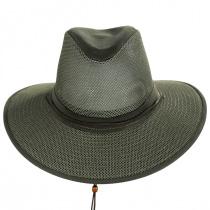 Mesh Aussie Grande Brim Fedora Hat alternate view 10