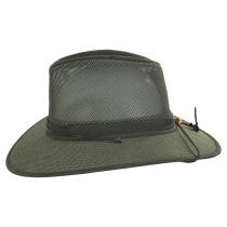 Mesh Aussie Grande Brim Fedora Hat alternate view 11