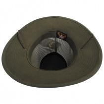 Mesh Aussie Grande Brim Fedora Hat alternate view 12