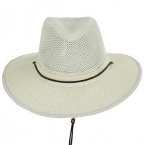 Mesh Aussie Grande Brim Fedora Hat alternate view 18