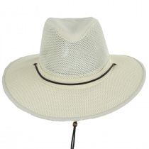 Mesh Aussie Grande Brim Fedora Hat alternate view 58