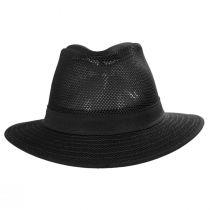 Packable Mesh Safari Fedora Hat alternate view 122
