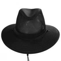 Packable Mesh Aussie Fedora Hat alternate view 2