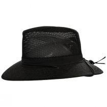 Packable Mesh Aussie Fedora Hat alternate view 3