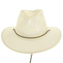 Packable Mesh Aussie Fedora Hat alternate view 123