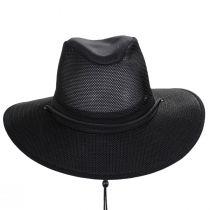 Mesh Aussie Grande Brim Fedora Hat alternate view 2