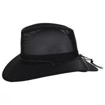 Mesh Aussie Grande Brim Fedora Hat alternate view 3