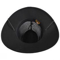 Mesh Aussie Grande Brim Fedora Hat alternate view 4