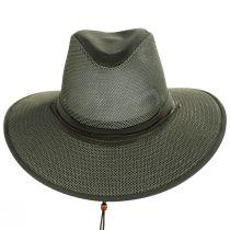 Mesh Aussie Grande Brim Fedora Hat alternate view 98