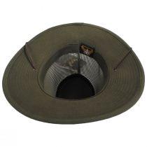 Mesh Aussie Grande Brim Fedora Hat alternate view 100