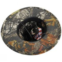Mossy Oak Camouflage Aussie Fedora Hat alternate view 24