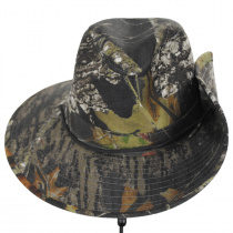Mossy Oak Camouflage Aussie Fedora Hat alternate view 6