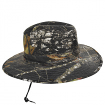 Mossy Oak Camouflage Aussie Fedora Hat alternate view 7