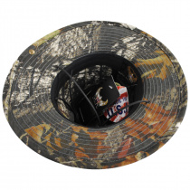 Mossy Oak Camouflage Aussie Fedora Hat alternate view 12