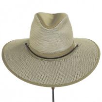 Mesh Aussie Grande Brim Fedora Hat alternate view 14